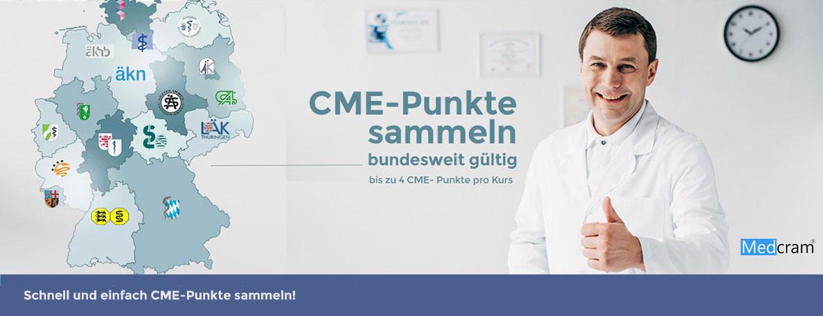 CME-Punkte kostenlos für Ärzte und Fachärzte