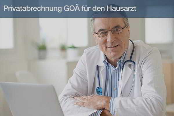 Privatabrechnung GOÄ für den Hausarzt