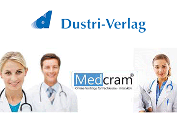 Kooperation zwischen Dustri-Verlag Dr. Karl Feistle GmbH & Co. KG und Cogitando GmbH (Medcram®)