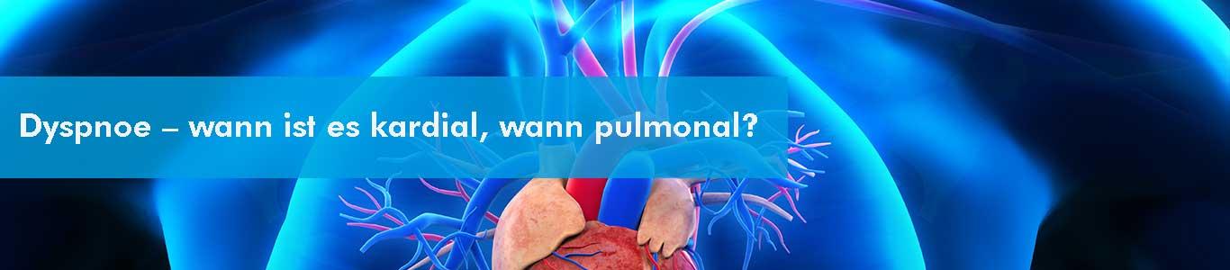 kardiale und pulmonale vermittelte Dyspnoe