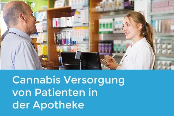 Cannabis Versorgung von Patienten in der Apotheke