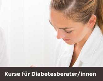 Kurse für Diabetesberaterinnen