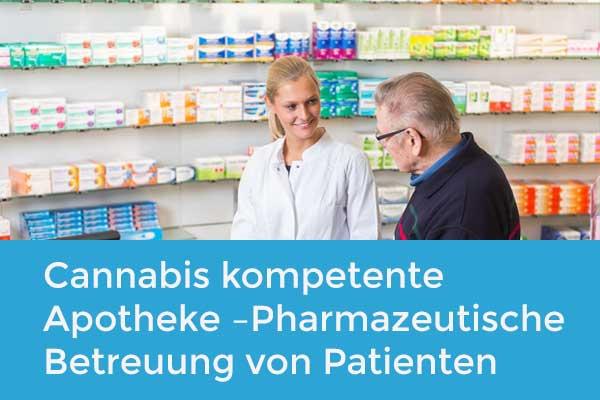 Cannabis kompetente Apotheke – Pharmazeutische Betreuung von Patienten