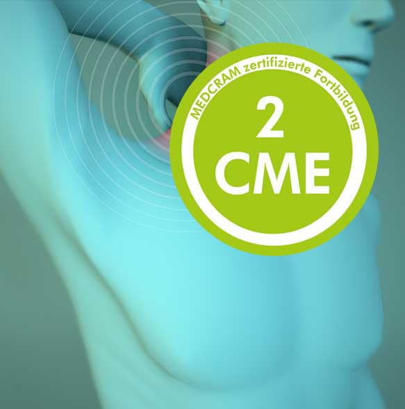 Ärtzliche Fortbildungen mit 2 CME-Punkten