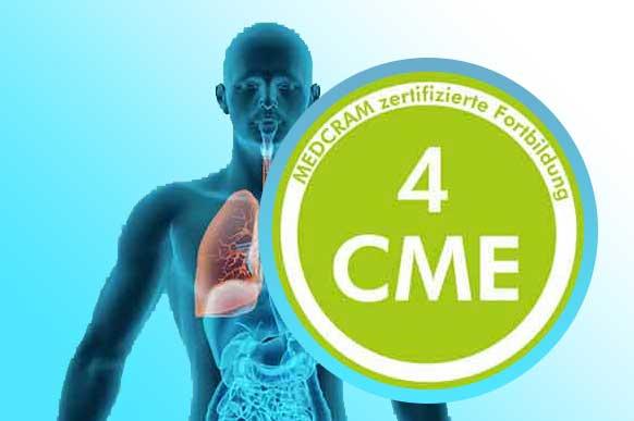 Ärtzliche Fortbildungen mit 4 CME-Punkten