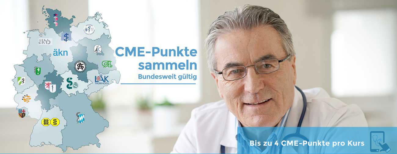 CME-Punkte kostenlos sammeln für Ärzte und Fachärzte